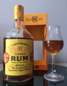 Cadenhead's Classic Rum Aged 17 Years Rum review by the fat rum pirate