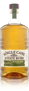 Single Cane Estate Rum Worthy Park Rum review by the fat rum pirate