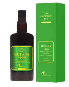 The Colours of Rum Guyana 1999 rum review by the fat rum pirate