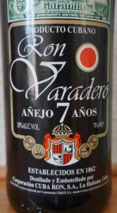 Ron Varadero aged 7 years rum review by the fat rum pirate