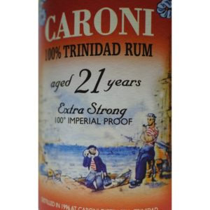 Velier Caroni 100% Trinidad Rum Aged 21 Years Rum Review by the fat rum pirate