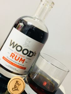 Wood's Old Navy Rum Review by the fat rum pirate