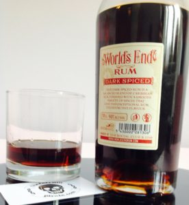 Worlds End Spiced Dark Rum review by the fat rum pirate