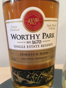 Worthy Park Single Estate Reserve Jamaica Rum Reivew by the fat rum pirate