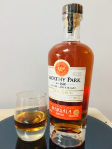 Worthy Park Special Cask Release Marsala Rum Review by the fat rum pirate