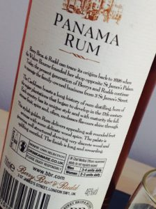 Berrys Panama Rum Aged 11 Years review by the fat rum pirat