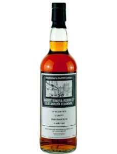 The Whisky Barrel 19 Year Old Caroni Berry Bros & Rudd 10th Anniversary rum review by the fat rum pirate