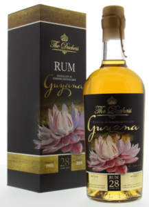 The Duchess Guyana Aged 28 Years rum review by the fat rum pirate