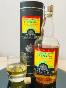 Bristol Classic Rum Reserve Rum of Grenada Distilled in 2003 Rum review by the fat rum pirate