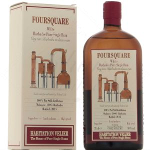 Habitation Velier Foursquare 2015 White Pure Single Rum review by the fat rum pirate