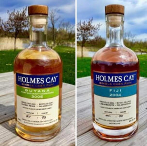 Holmes Cay Single Cask Rum Fiji 2004 Rum Review by the fat rum pirate