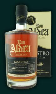 Ron Aldea Maestro 2006 Rum Review by the fat rum pirate