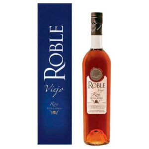 Ron Roble Viejo Extra Anejo Rum review by the fat rum pirate
