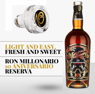 Ron Millonario 10 Aniversario Reserva Rum review by the fat rum pirate