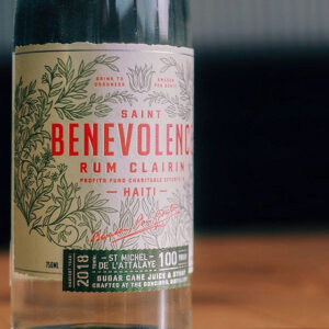 Saint Benevolence Rum Clairin Rum Review by the fat rum pirate