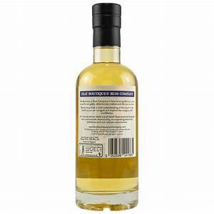 That Boutique-y Rum Company Greensand Ridge Batch 1 Rum review by the fat rum pirate