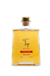 Top CBD Spirits Spiced Rum review by the fat rum pirate