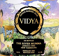 Vidya The River Mumma rum review by the fat rum pirate