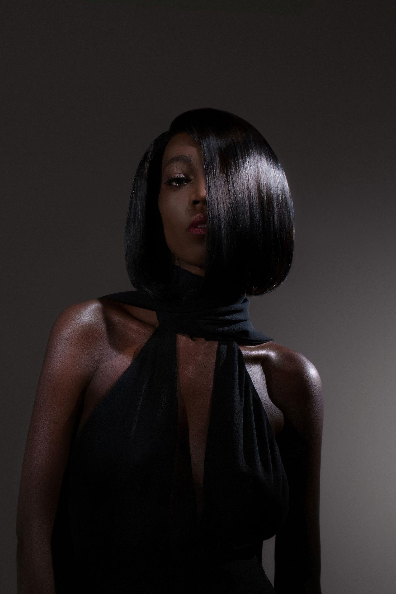 Beatnik Luxury Full Lace Black Wig- 360 Frontal Lace 8