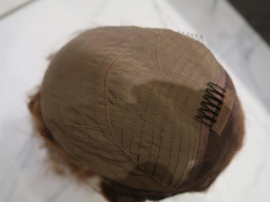 Closure Wig cap with Seams