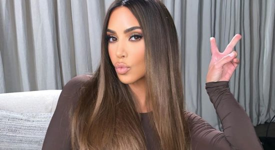 Kim Kardashian, Balayage Brown Hair