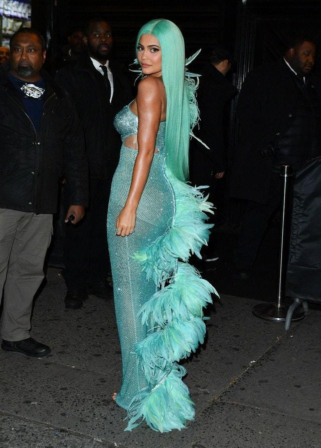 Kylie Jenner Mint Hair