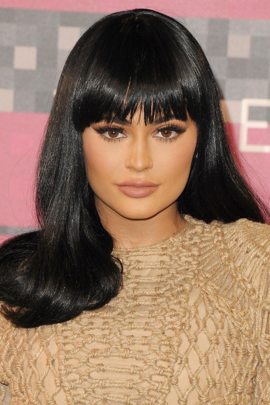 kylie Jenner Hair - Fringe