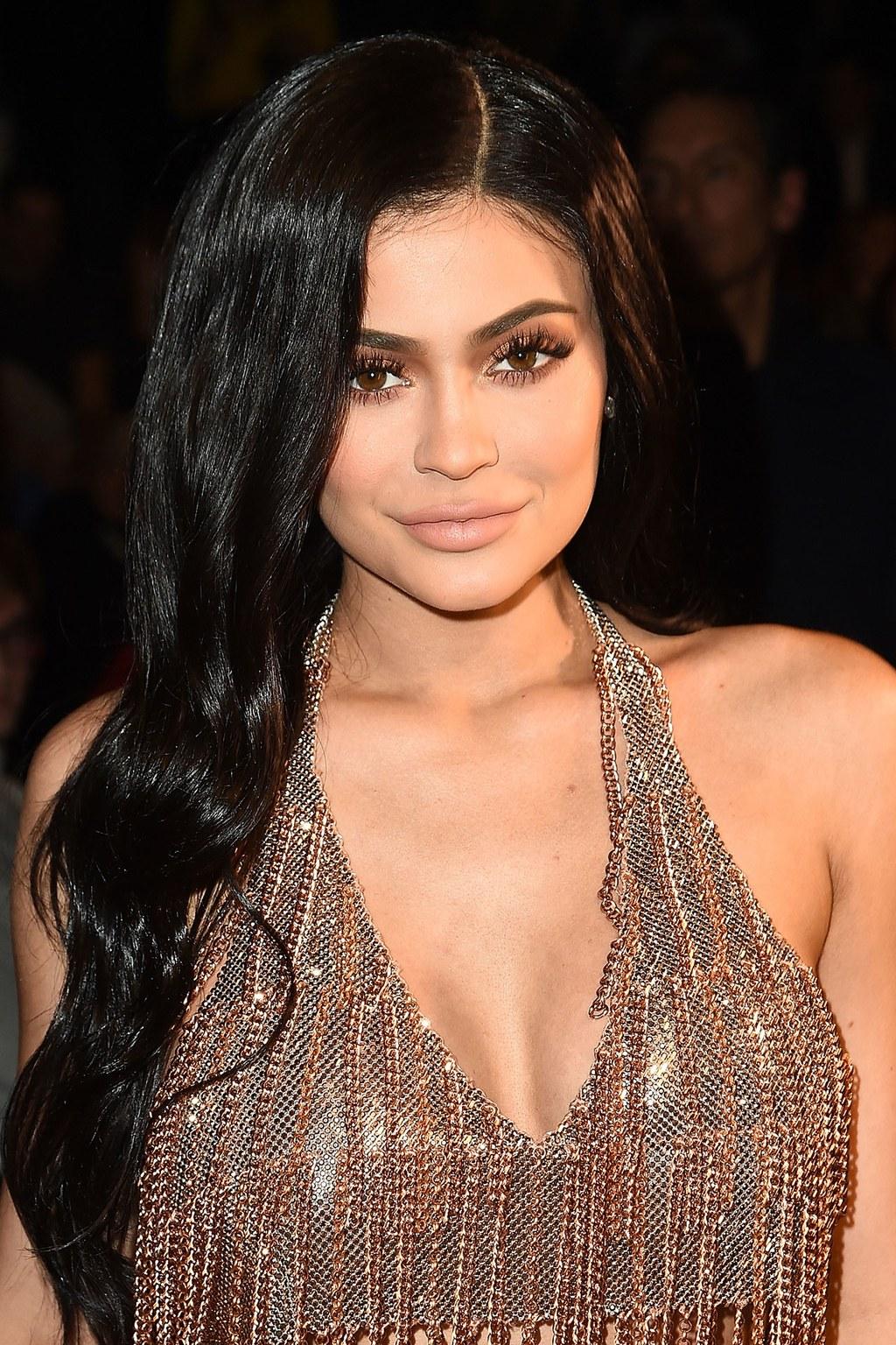 Klylie Jenner Natural Hair