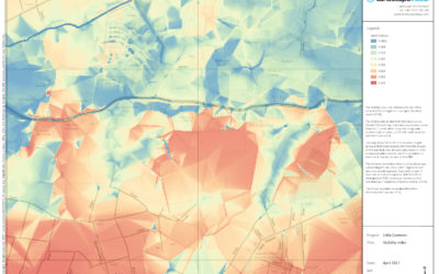 Zone of theoretical visibility maps