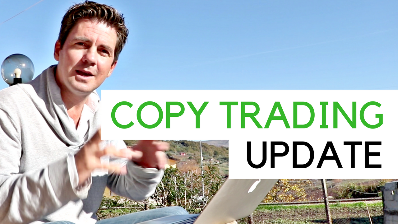 Me outside in Italy talking about Copy Trading on Etoro