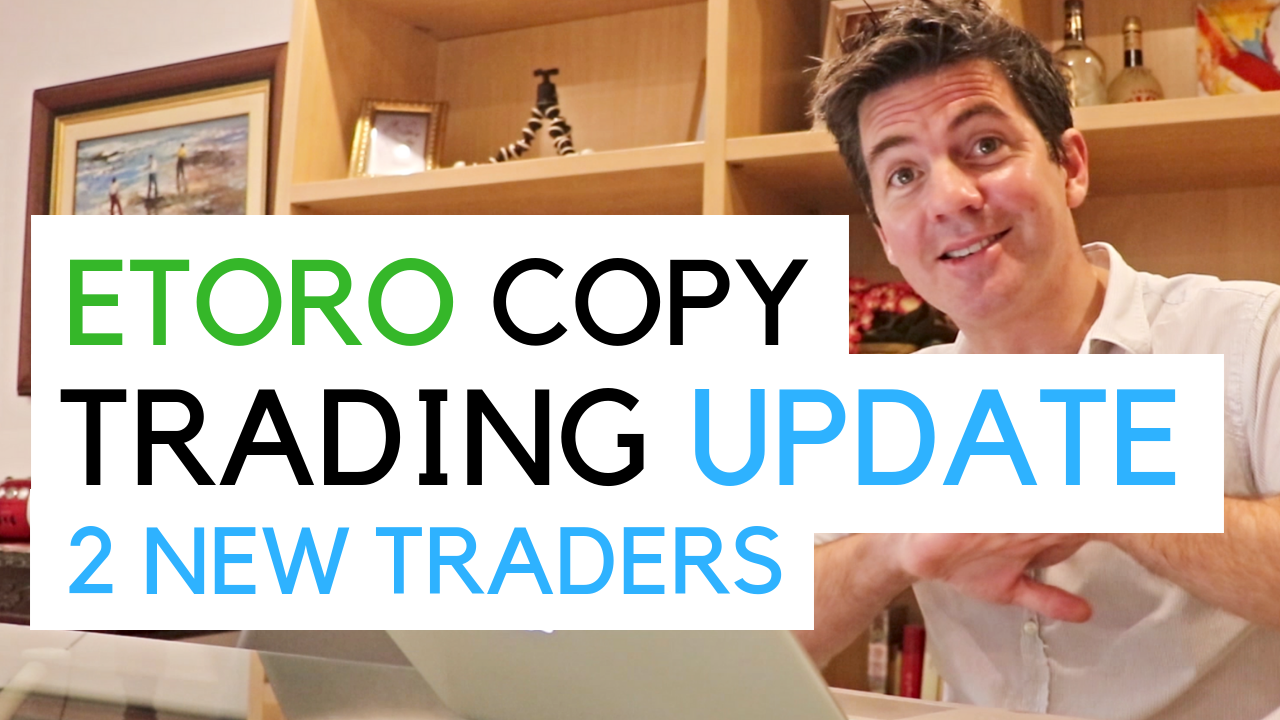 talking to camera about copy trading and my portfolio