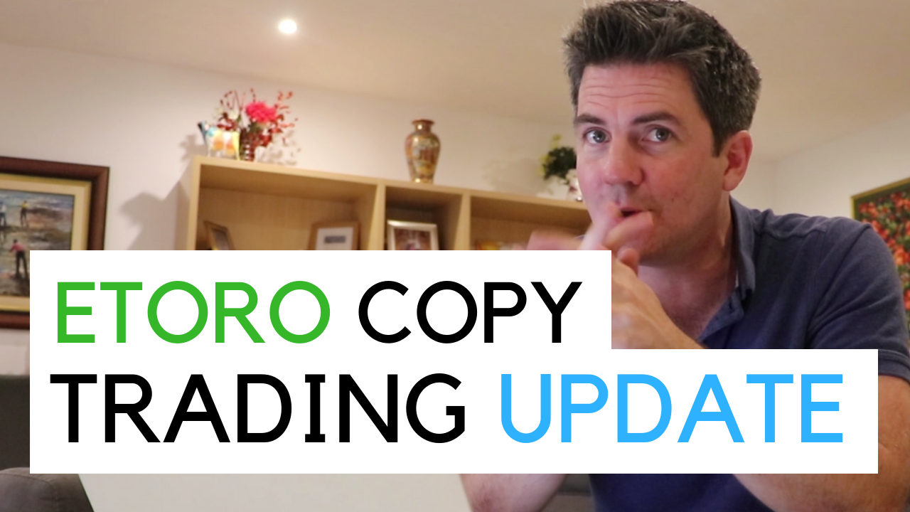 Me in Malta in my flat doing a copy trading update - November 2018