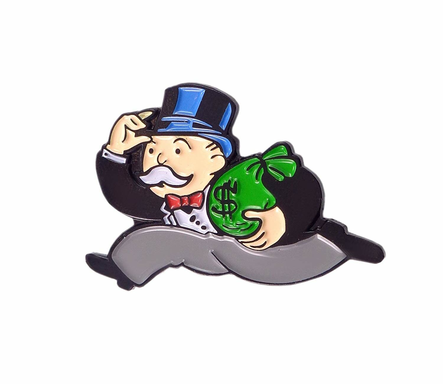 Moneybags character from Monopoly Boardgame