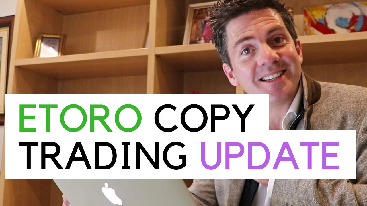 Giving a copy trading update near my bookshelf in my flat