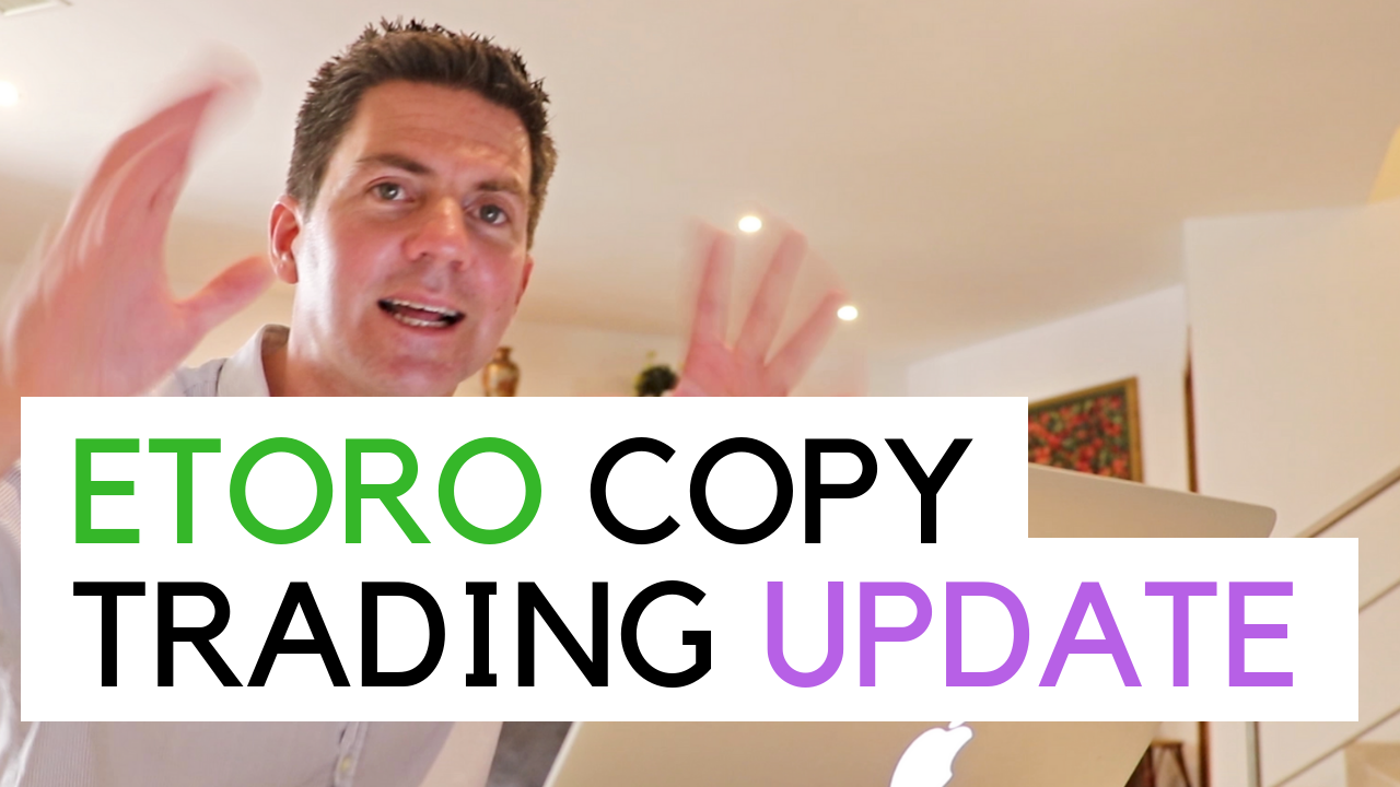 Copy Trading Update and overview of my current portfolio and traders