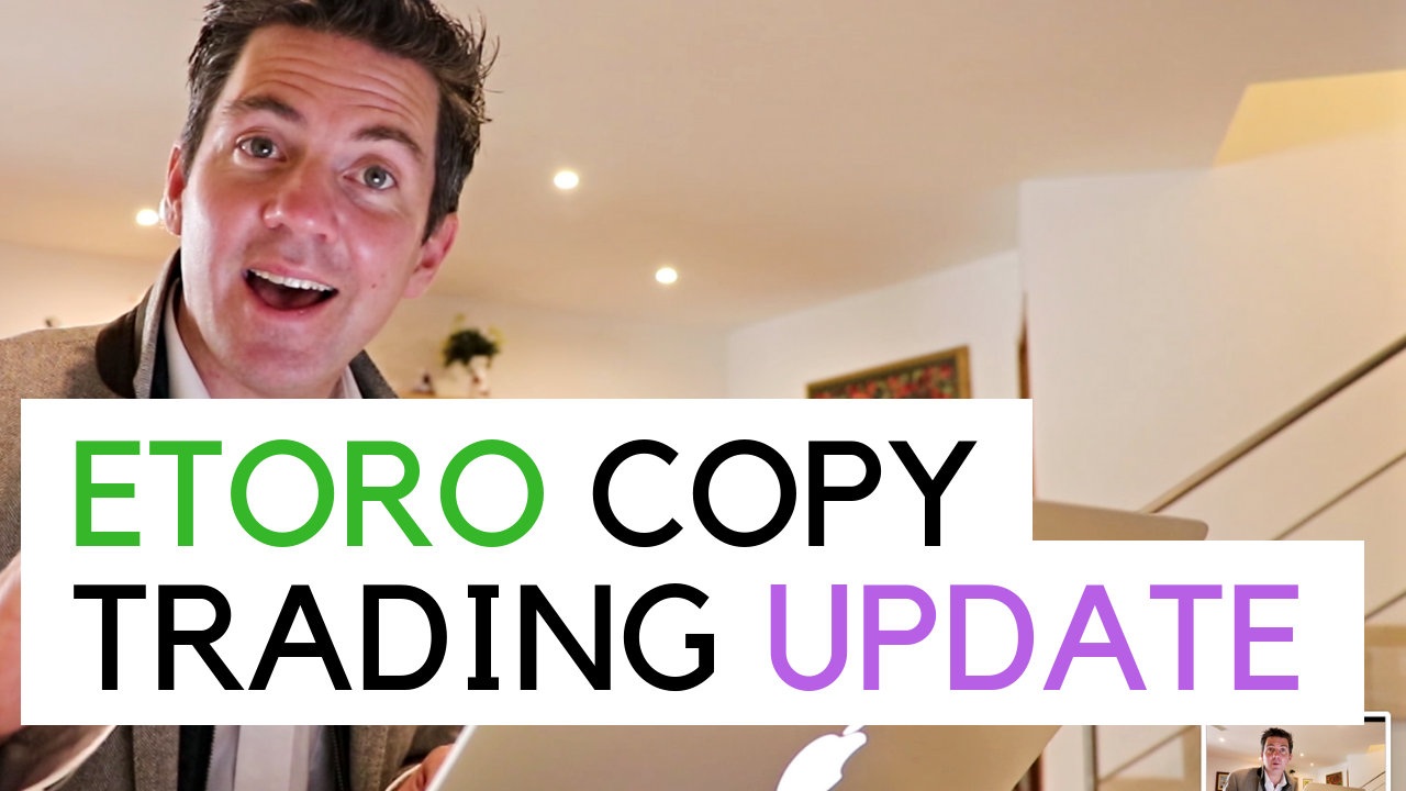 Me giving a brief overview of my portfolio on Etoro recently