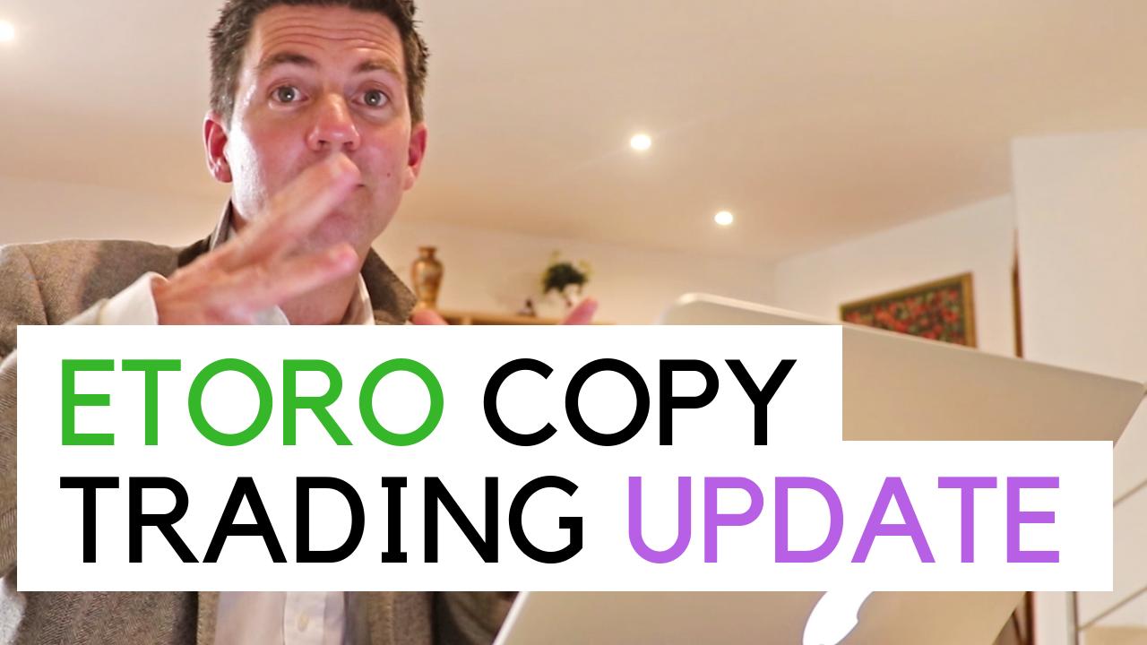 Talking to camera about my copy trading portfolio onEtoro - 23-April-2019