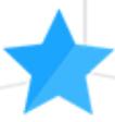 Blue Star indicating 'Cadet' level popular investor on eToro