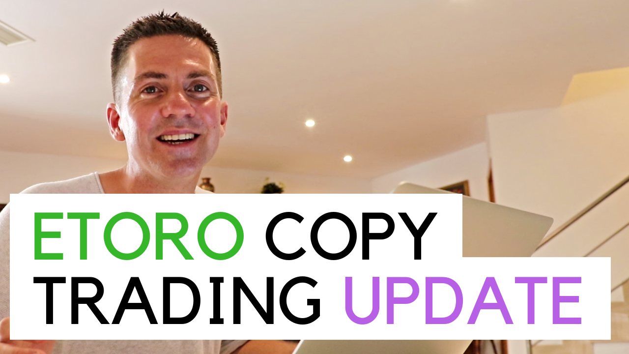 My 15th June 2019 Copy Trading update - me in my flat talking to camera