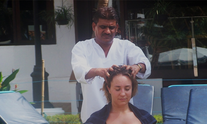 Other Treatments Indian Head Massage focuses on the area surrounding the head, scalp, face, neck and shoulders