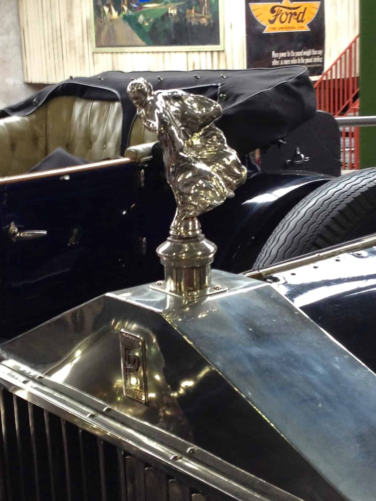 Mascote do Rolls Royce