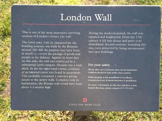 London Wall Plaque