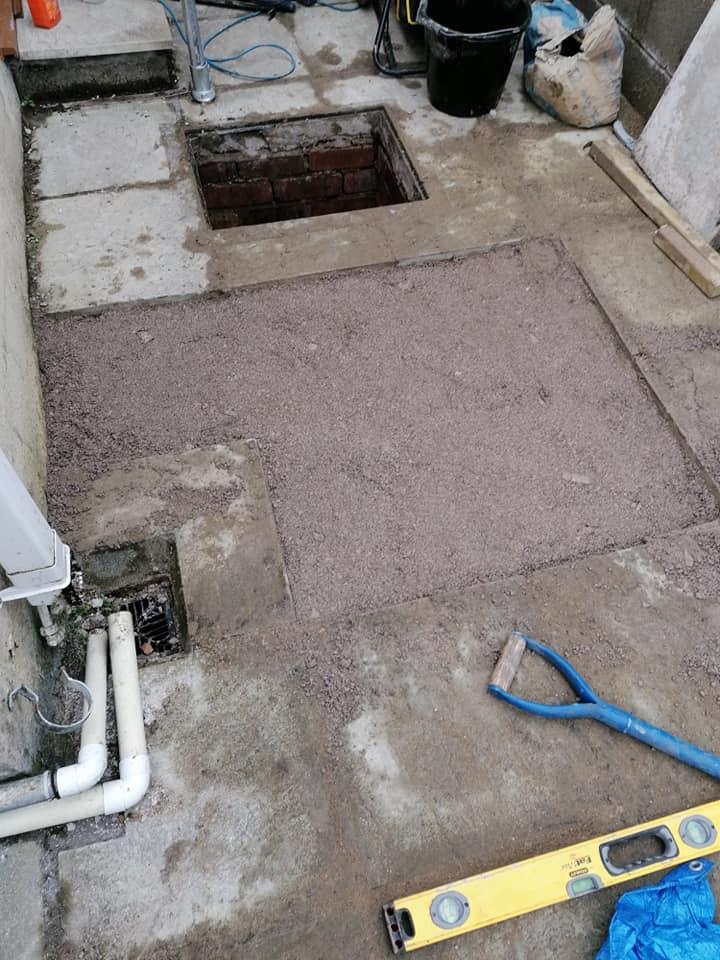 Broken Sewer Pipe