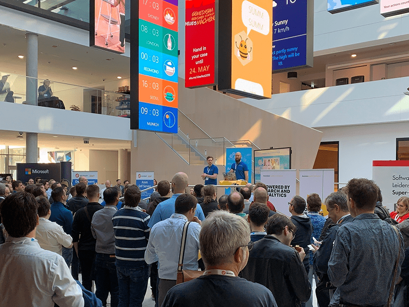 Vortrag aus Microsoft HQ München
