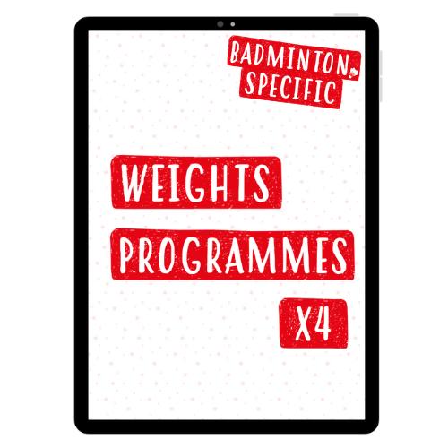 Badminton Specific Weights Programmes