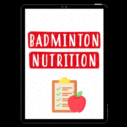 Badminton Nutrition