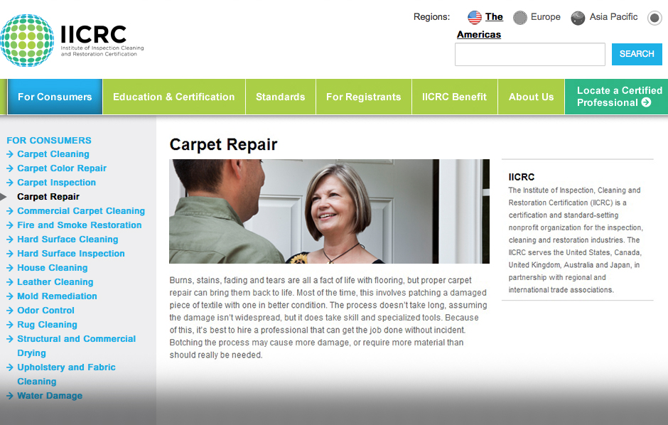 Responsible Homeowners Invest In Professional Carpet Repair Services