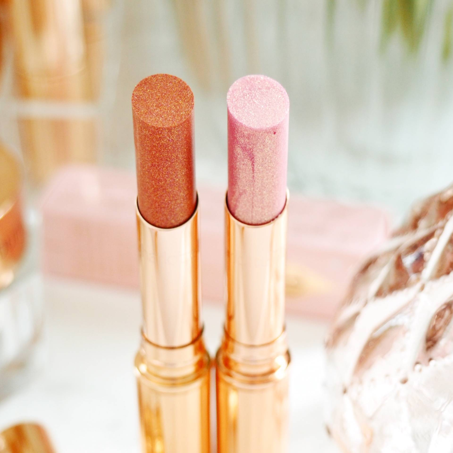 Charlotte Tilbury Pillow Talk Diamonds Lipsticks Review and Swatches
