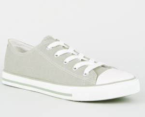 New Look Green Trainers