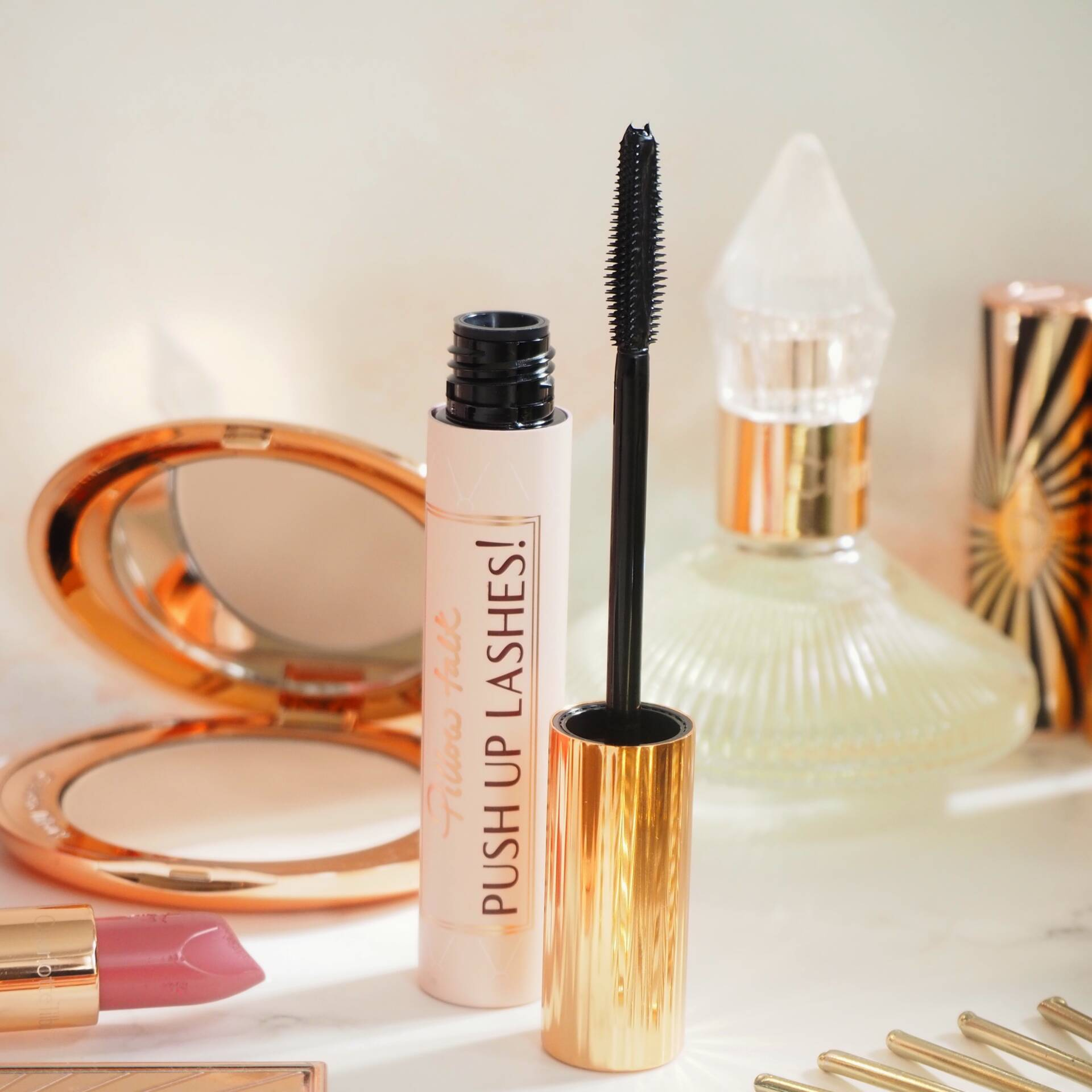 Charlotte Tilbury Pillow Talk Push Up Lashes Mascara Review and Comparison